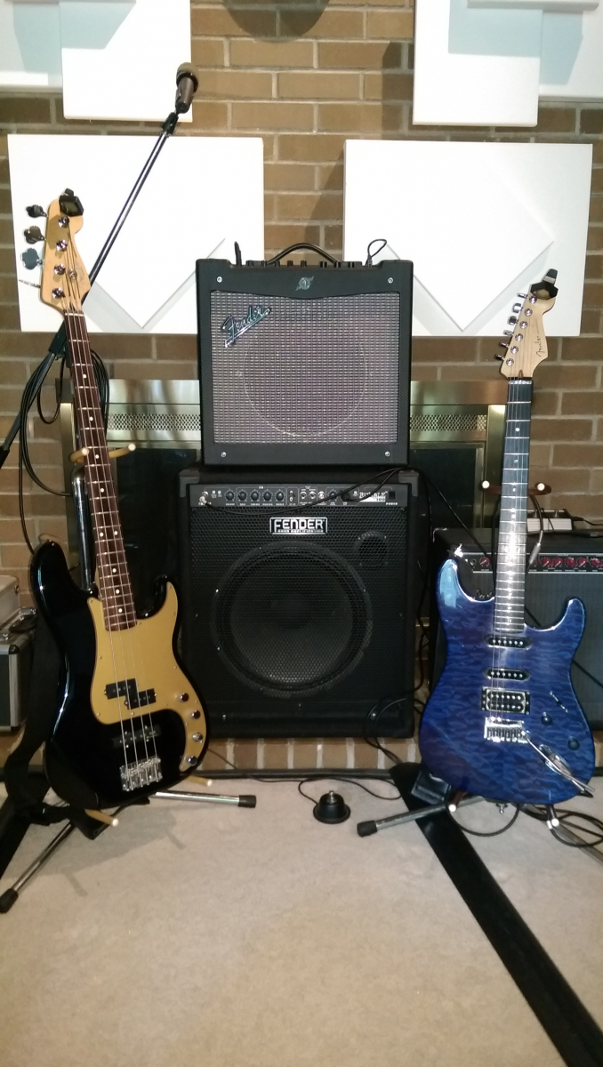 Amps Bass Electric Guitars